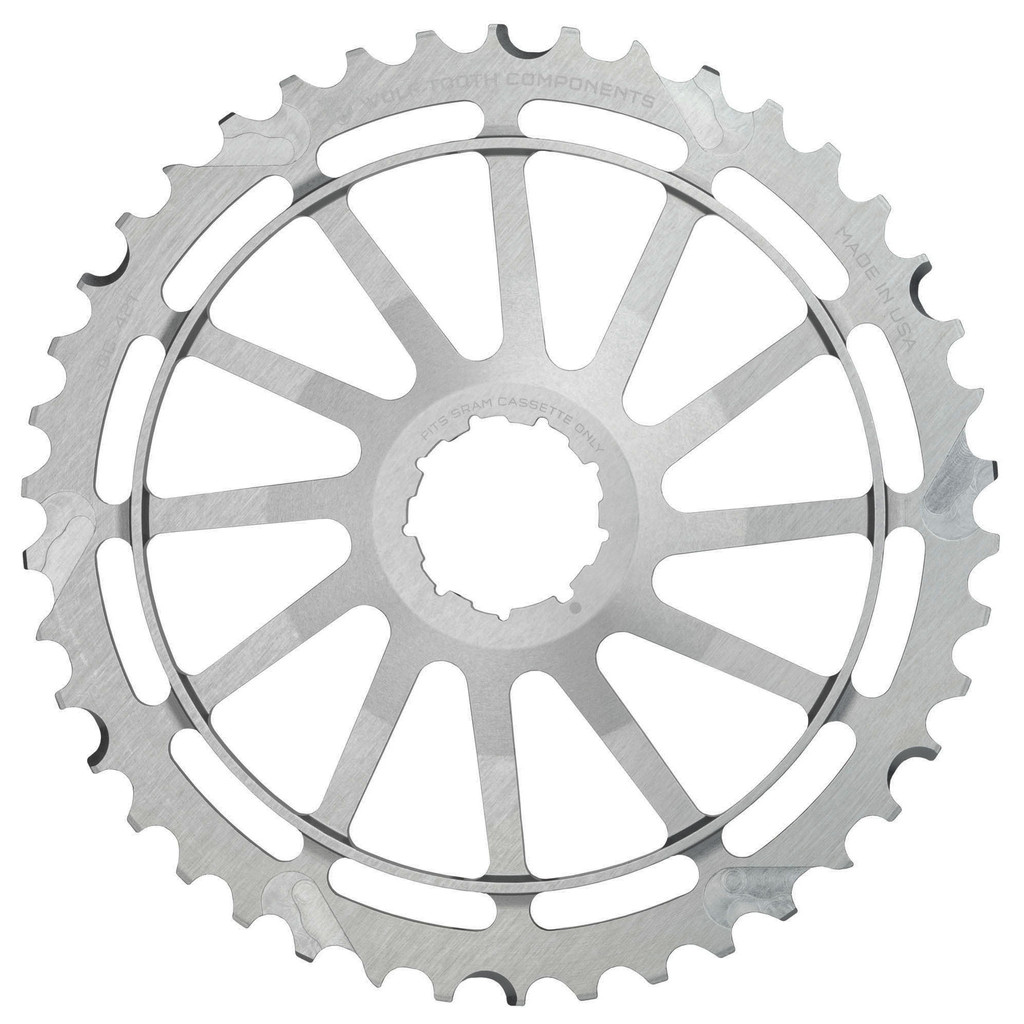 Wolf Tooth 42T GC Cog for SRAM (Silver)