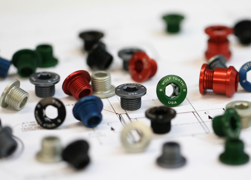 Wolftooth Chainring Bolts