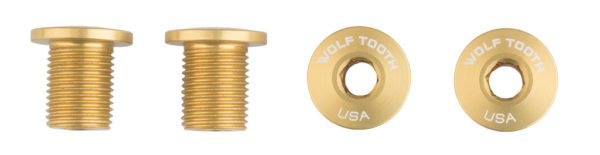 Wolftooth Chainring Bolts (Gold)