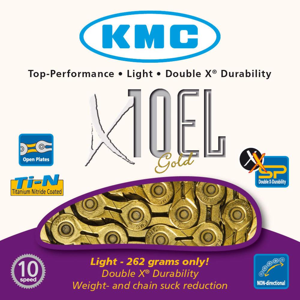 KMC X10 EL Gold Chain