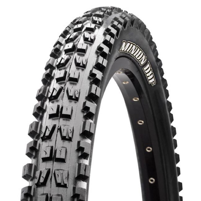 "Maxxis Minion DHF 27.5 x 2.5"" WT 3C MaxxGrip EXO TR Tire"