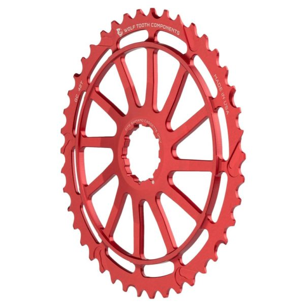 Wolf Tooth 42T GC Cog for Shimano (Red)