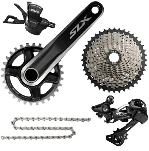 Shimano SLX M7000 1x11 Speed Groupset Builder