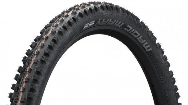 "Schwalbe Magic Mary Evo ADDIX Soft 26 x 2.35"" SnakeSkin SuperGravity Tire"