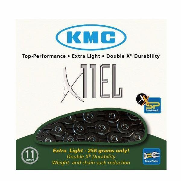 KMC X11EL 11 Speed Black Chain