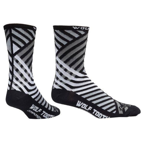 Wolf Tooth Components Socks (Grid Pattern)